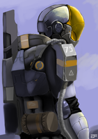 ExoSoldier (1 Layer) by GreenFireArtist