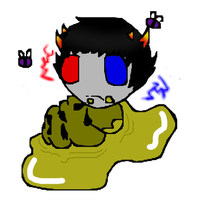 Sollux, did you eat the mind honey? by Tammiikat