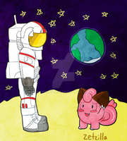 Clefairy Are From The Moon by Apollonaut