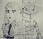 Alice and March Hare by ServusGrunt