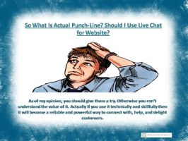 SHOULD I USE LIVE CHAT FOR WEBSITE? by RobertBennett4U