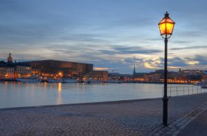 An Evening on Skeppsholmen IX by HenrikSundholm