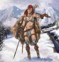 Red Sonja by Inhuman00