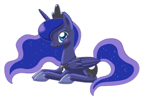 Princess Luna by LilBambina