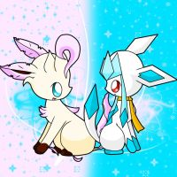 Snowflake and Leafy by snowflake95