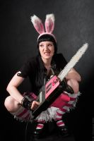 Bunny Chainsaw Massacre by KodoqKatie