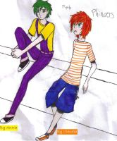Phineas and ferb by Numahistory