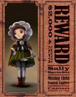 Missing Child: Sally Sprocket by 47ness
