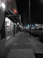 Night Street Desaturated by The-Chez