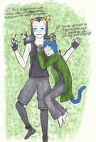 EquiusXNepeta :HS fanart: by Siouxstar