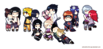 LC - naruto couples by ink-cap