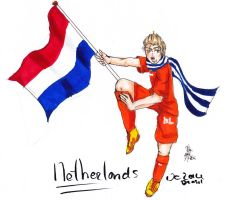 Netherlands WK by AnnHolland