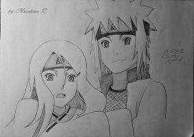 young Minato and Kushina by Monstacookie