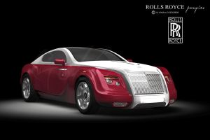 Rolls Royce Red by peregrhino