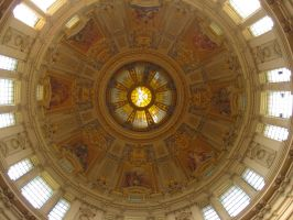 Berliner Dom's Dome by Chardoz