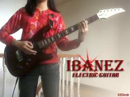 Ibanez Electric Guitar by elindr