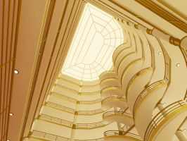 Poseidon Grand Staircase 1st by Bryan-Gab
