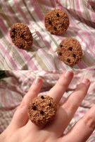 Fimo Cookies ring by Sunshu