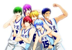 generation of miracles( kiseki no sedai) by nakamurakenji1993