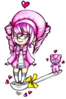 A Spoon Full of Pink by CUTE-ChibiMONSTERZ