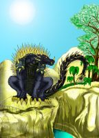 Anguirus 2000 by RenDragonClaw