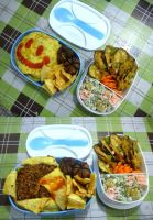 moyamoya rice bento by plainordinary1