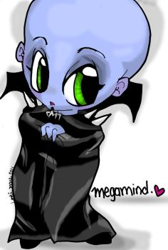 megamind chibi by Fur-What-Loo