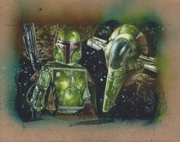 Boba Fett by JeffLafferty
