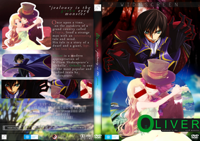 Oliver - Othello Appropriation DVD Cover by rebeccaangoo