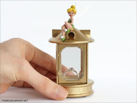 Tinkerbell engagement ring box by artmik