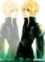 Doppelganger- Cloud Strife+ by tifachanx