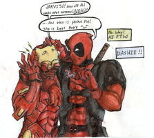deadpool by cheshirehatter