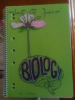 Biology exercise book by Maevethebrave