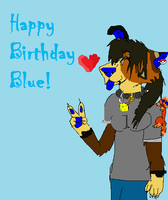 Happy Birthday Blue 8'DD by LoxiDays33