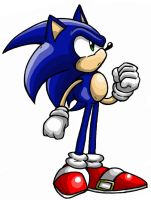 Hay it's Sonic by anotherblazehedgehog
