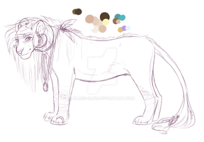 Kami's 2014 Design - WIP by Mlle-Kamichat