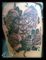 Candyskull by state-of-art-tattoo