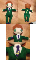 Btas Riddler Plush by CaxceberXVI