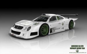 Mercedes CLK GTR Hervalife1 by RJamp