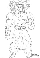 Broly the legendary super saiyan by CB-95