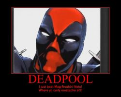 Deadpool Motivational by Panzerraptor