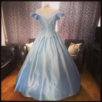 Victorian Light Blue Gown by BlackvelvetSITC