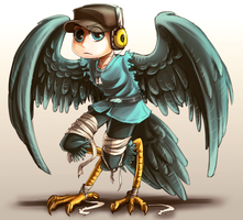 TF2: Harpy Scout Coloured by DarkLitria