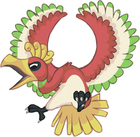 Ho-Oh by HappyCrumble
