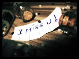 I miss you... i really do by VicciVoo