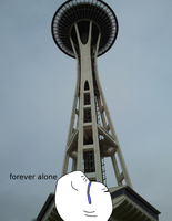 Forever Alone in Seattle by takeshita-kenji
