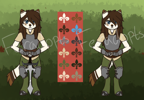 Woodland cat squire auction -CLOSED- by Feradopts