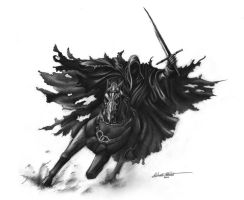 Nazgul drawing by Regius