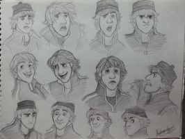 Kristoff's expression by Andrea365