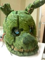 Finished Springtrap Head! by raigr